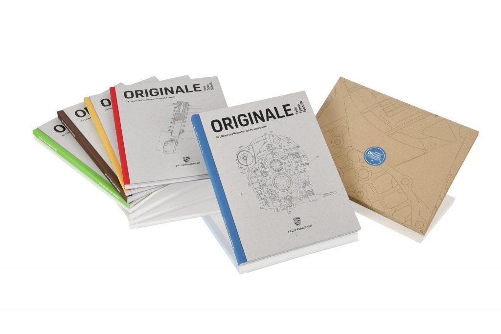 Originale Porsche classic boeken
